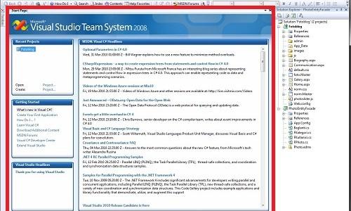 Visual Studio 2008 Genel Bir Bakış