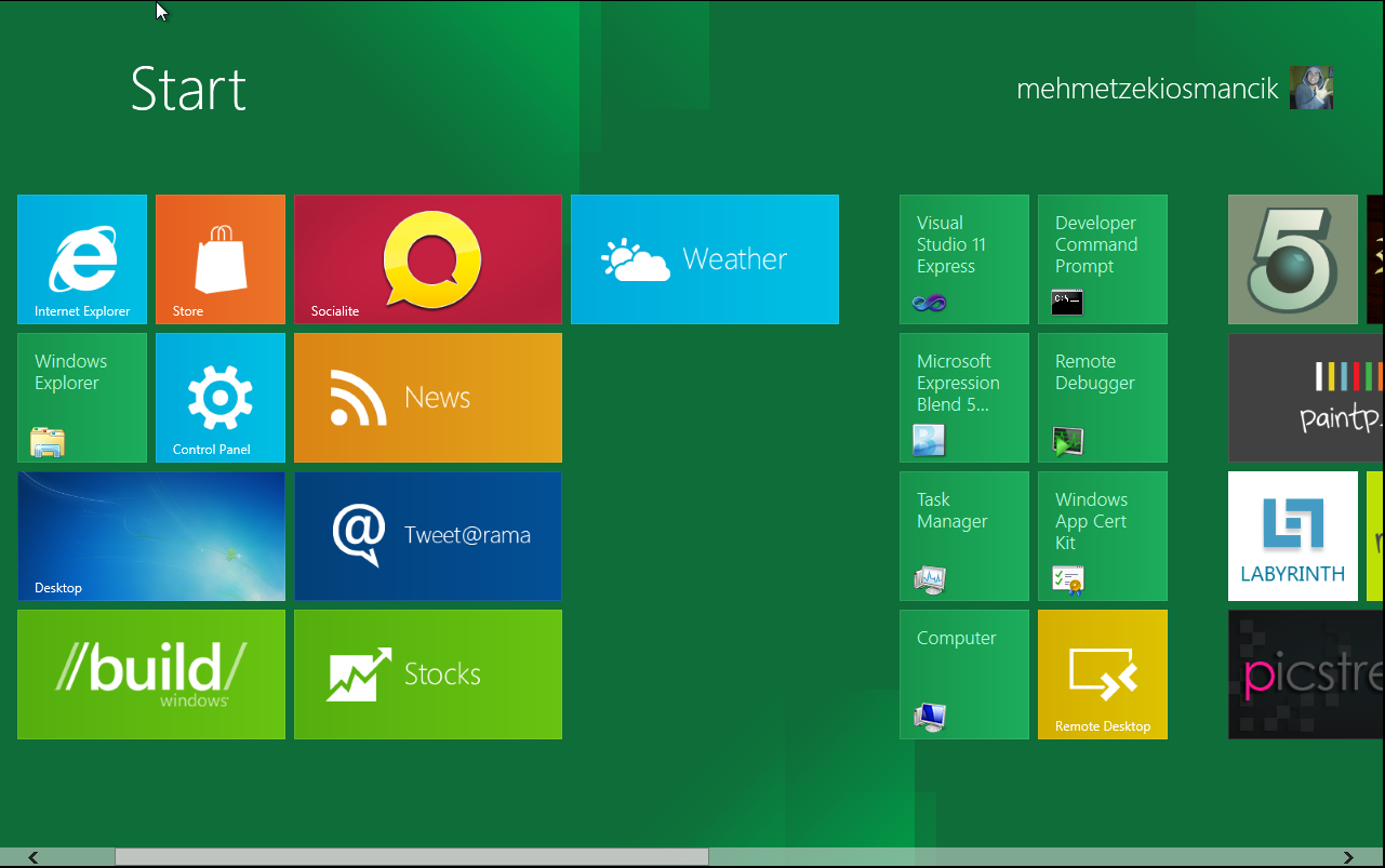 VMWare Windows 8 Kurulumu