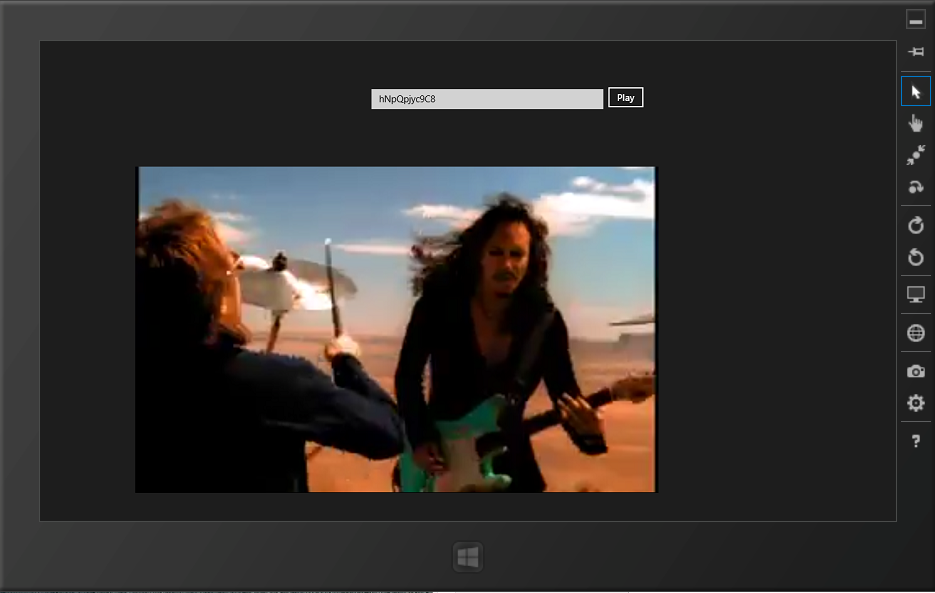 Windows 8 Store App _ Youtube Video on Media Element