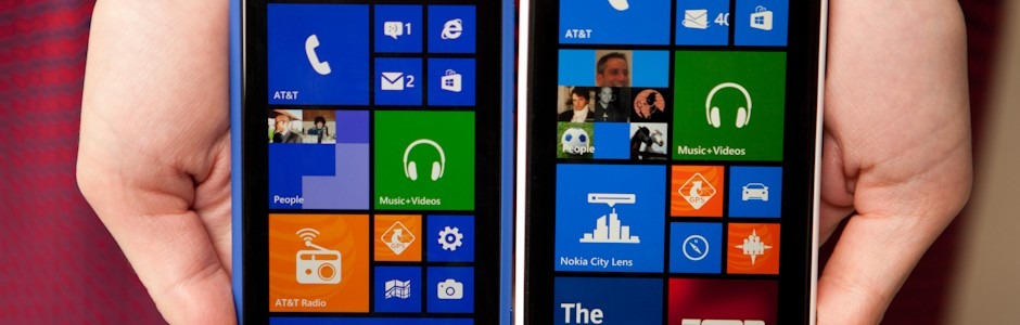 Windows Phone 8 – HTC and Nokia Compare Video
