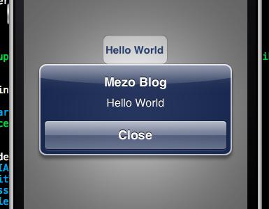 Iphone Programming – AlertView (MessageBox)