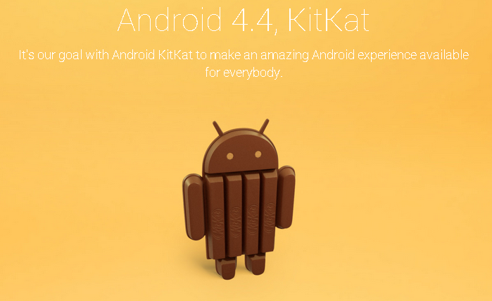 Android 4.4 KitKat Geliyor