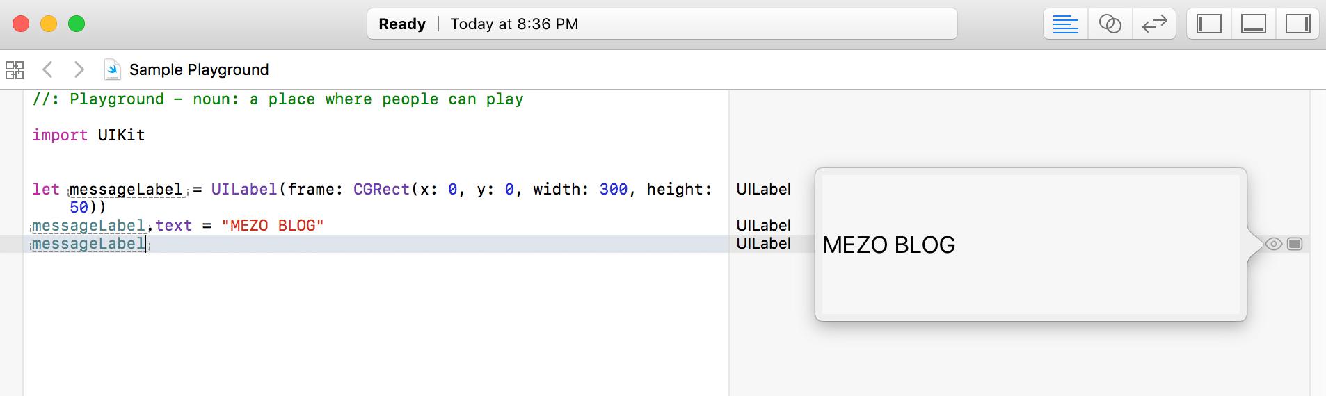 Bölüm 2 – Swift Playground ile Oynayalım